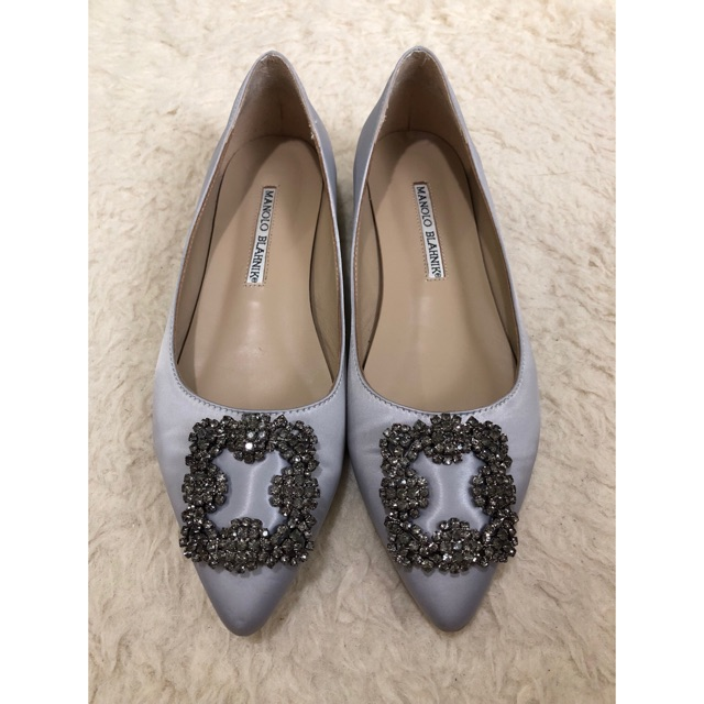 on hand manolo blahnik flats shoes shopee philippines rh shopee ph