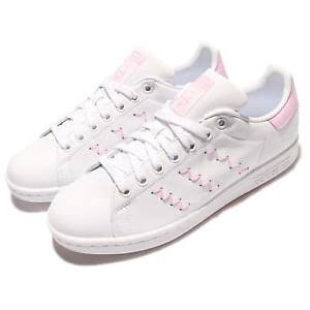 quality design e1115 bd72d Adidas Stan Smith White & Pink Size US 5.5