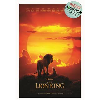 Lion King 2019 Movie Poster Large 33cm X 50cm