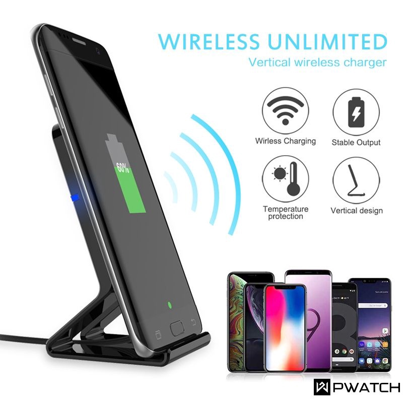 Pasonomi Tilt Wireless Charging Stand Review: 10W Qi Wireless Charger Stand QC 2.0 Desktop Quick Charge