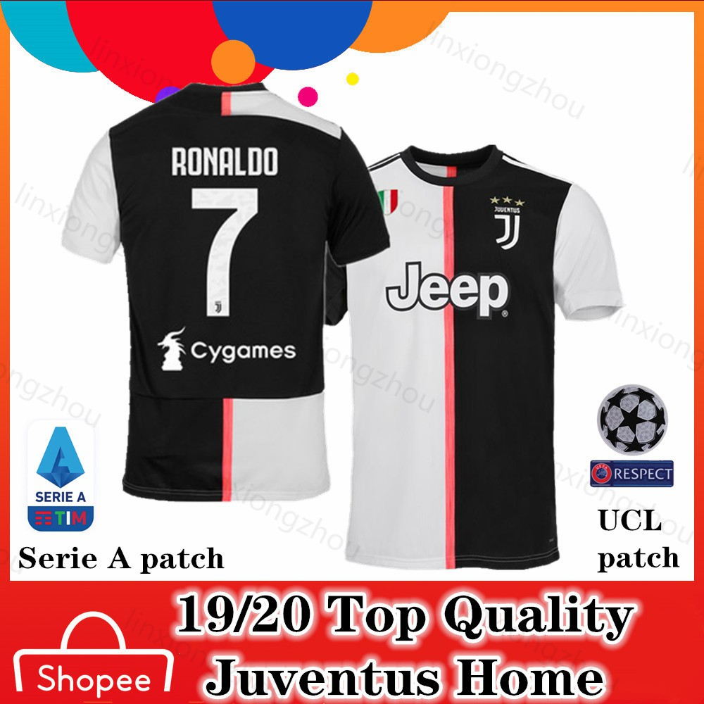 sports shoes de838 a7115 Top Quality 19/20 and 18/19 Juventus Home Football Jersey