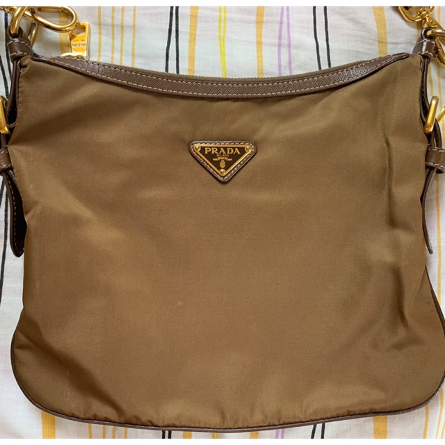 Prada Brown Sling Bag Sho Philippines
