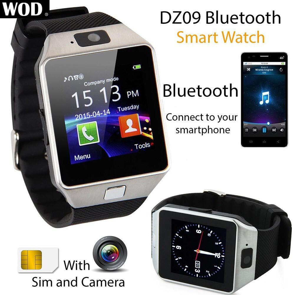Bluetooth Smart Watch Smart Watch Dz09 Call 2g Gsm Sim Shopee