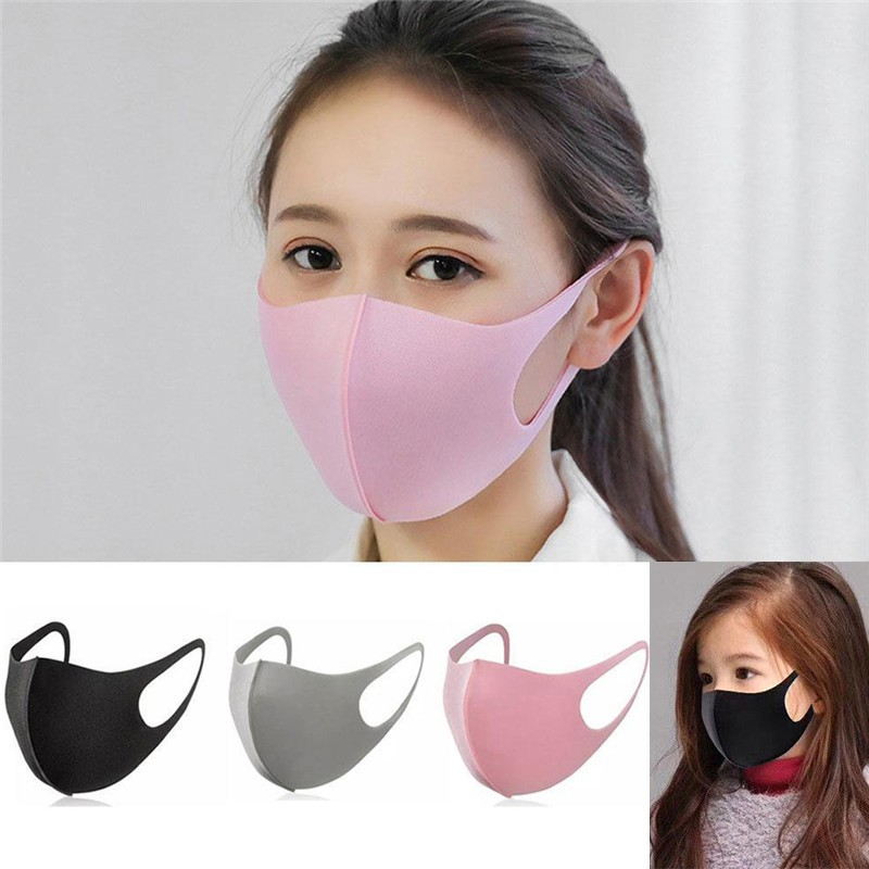 Style Mouth Mask Reusable& Washable Celebrity Mask/plain