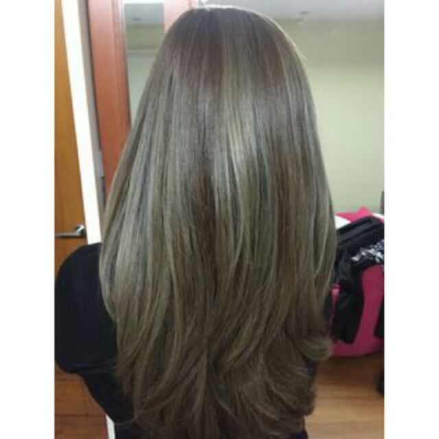 hair dye coloring powder flaxen ash brown shopee philippines