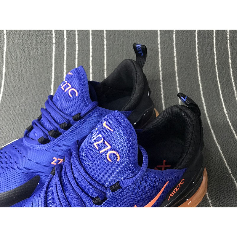 finest selection c7cdf a05b6 Nike Air Max 270 Flyknit Blue orange red AQ1264-011