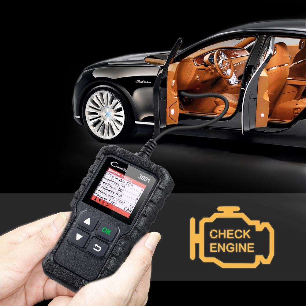 Full OBD2 OBDII Code Reader Scan tools OBD 2 CR3001 Car