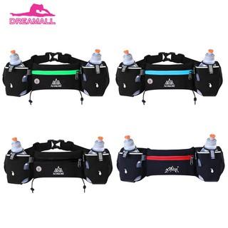45d5e8cff2dd dr❤ Sports Running Hydration Belt Waist Bag Fanny Pack with 2 Water ...