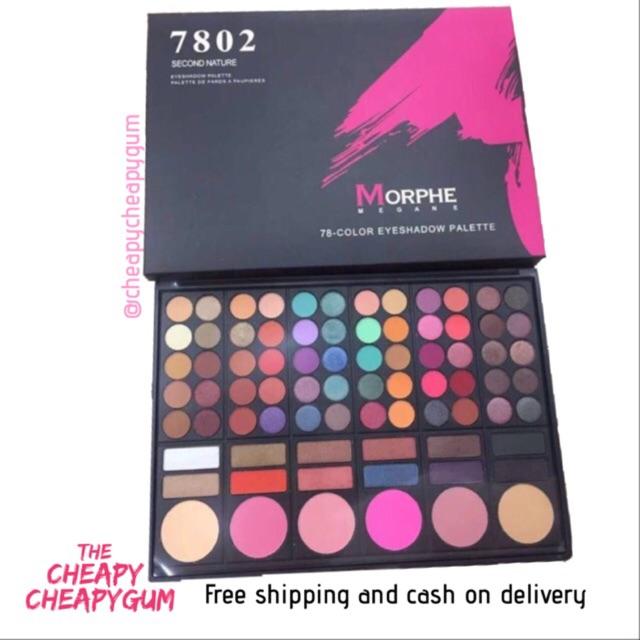Morphe 78 eyeshadow palette morphe 7808
