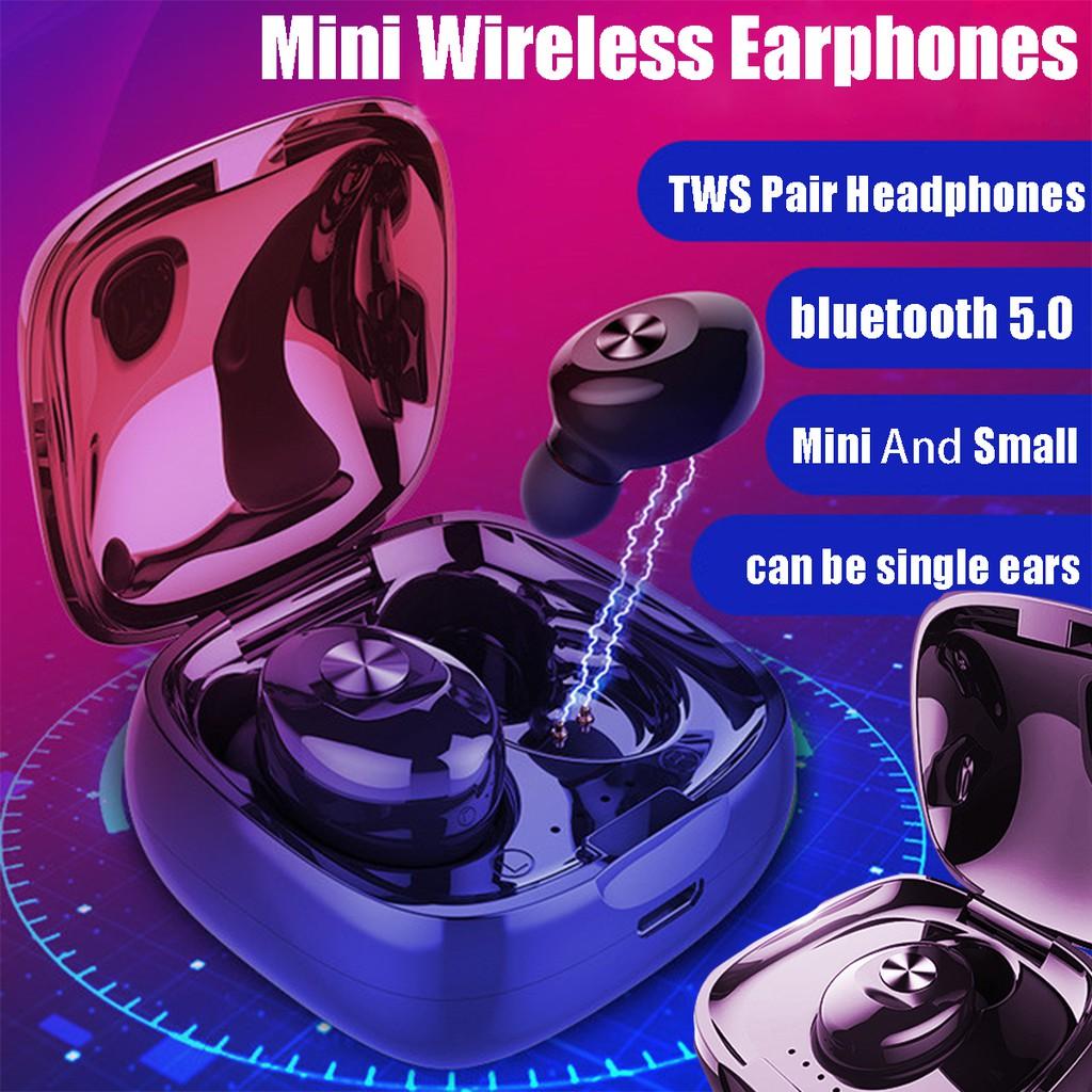 XG12 Bluetooth 5.0 TWS Earphone Stereo Wireless Earbus HIFI Sound ...