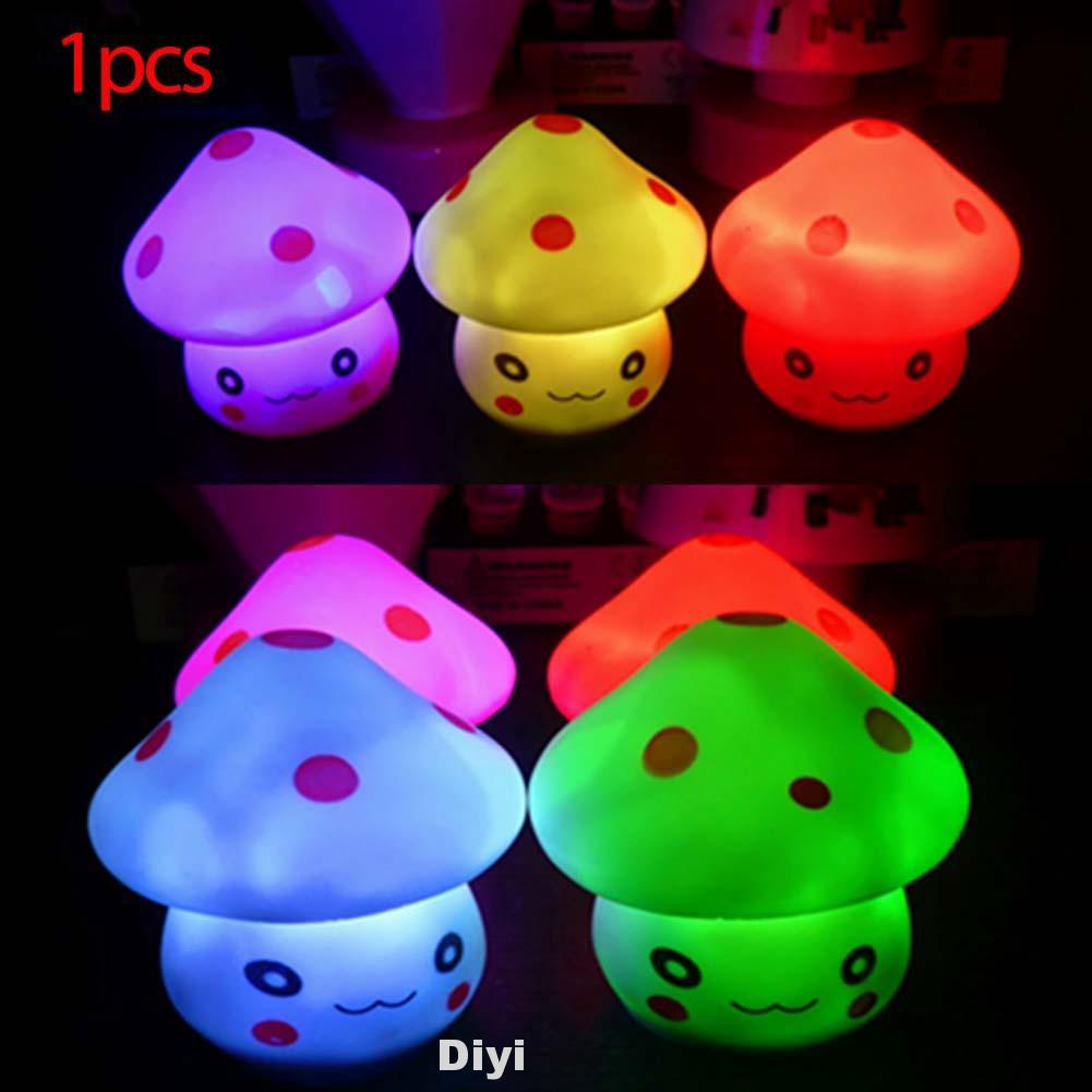 Mushroom Shape Kids Gift Night Lamp