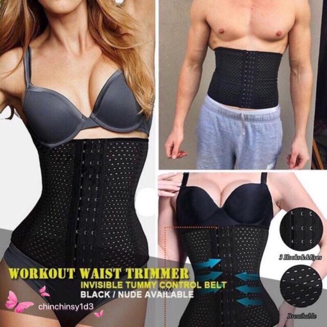 ba56a1b662 BOER 7992 Fitness Trainer Body Shaper Waist Trimmer Tummy Slimming Belt-L