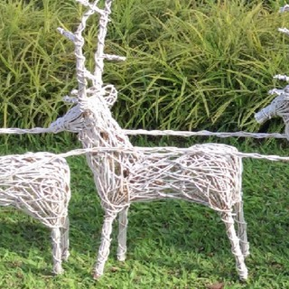 KrigKrafts Outdoor Native Christmas Decor Reindeer 2ft | Shopee Philippines