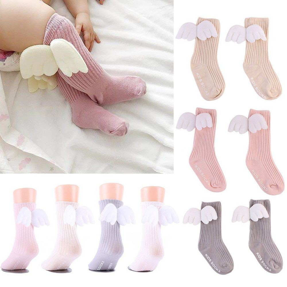c49703ce430 WHPH Kids Toddlers Girls Knee High Socks Tights Leg Warmer Stockings For  2-12Y