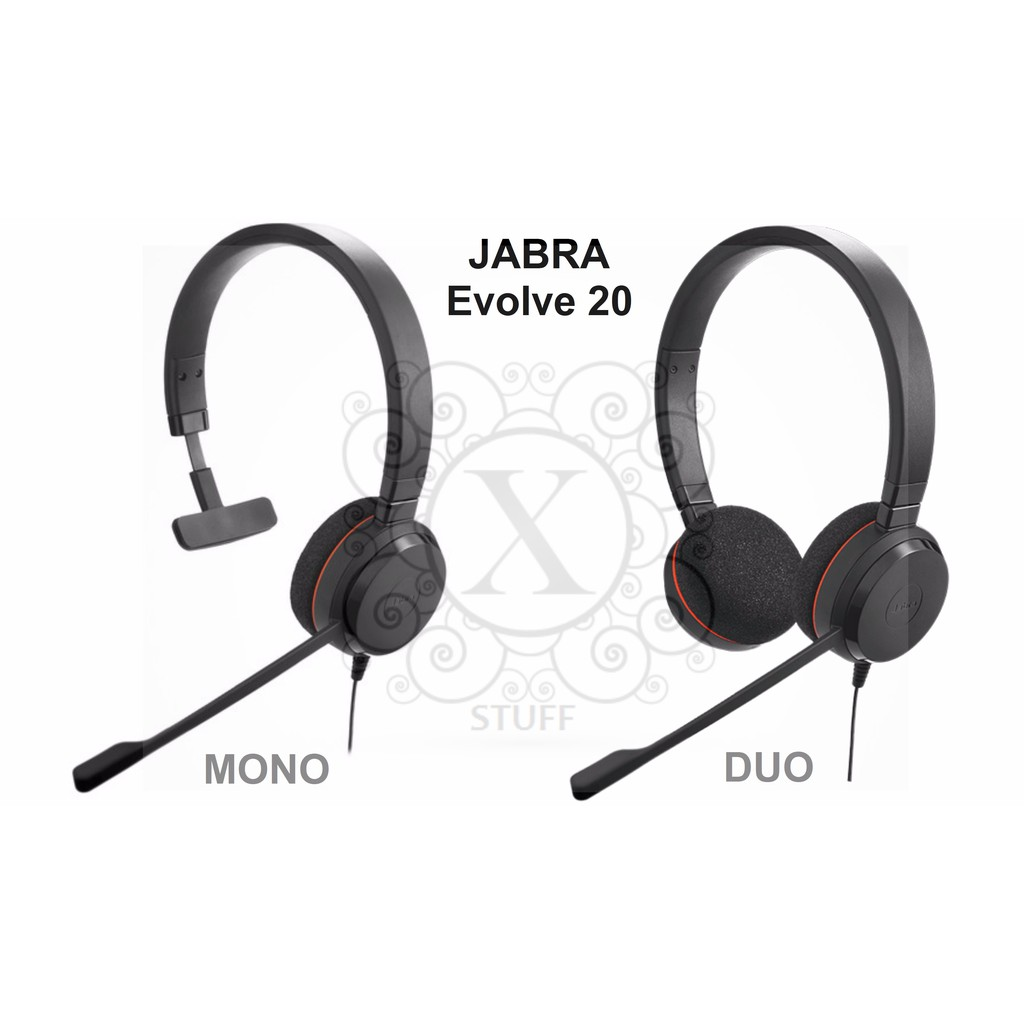 Brand New Jabra Headsets Evolve Series 20 30 40 Shopee Philippines