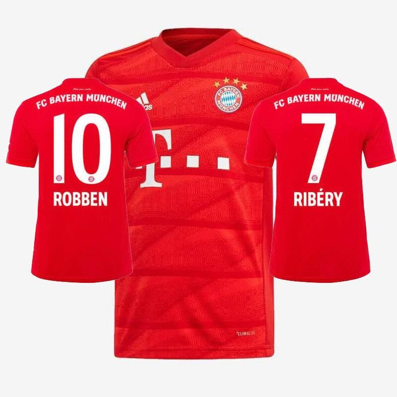 New 2019 2020 Fc Bayern Munich Home Football Jersey Soccer Wear Sport Suit Shopee Philippines