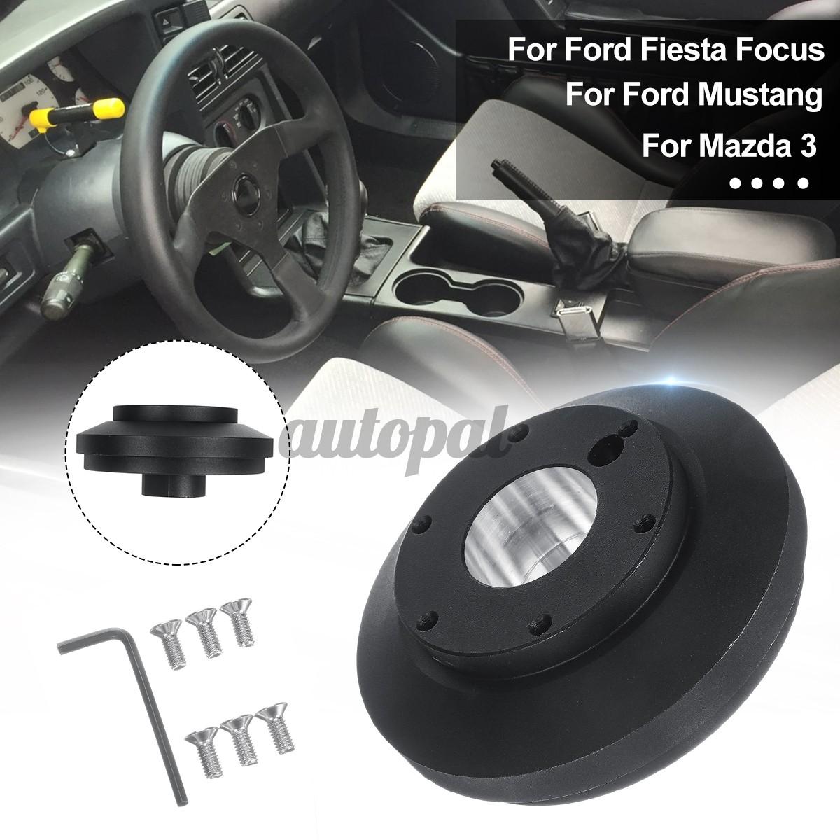 Srk 175h Aluminium Steering Wheel Short Hub Adapter For Ford Fiesta Focus Mustang Mazda 3 Shopee Philippines