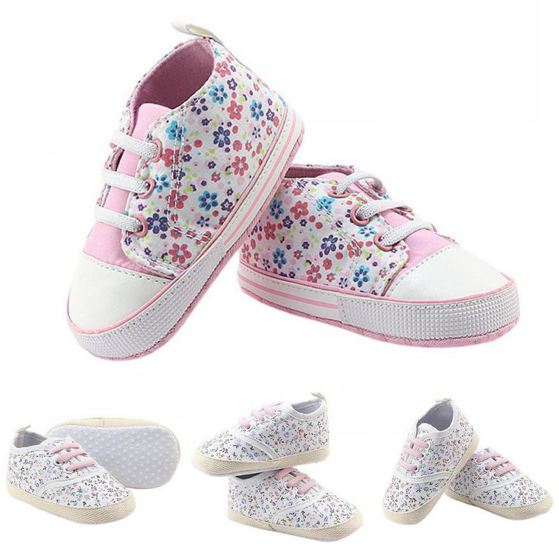 496623b35 ProductImage. ProductImage. 0-12M Infants Baby Boy Girl Soft Sole Crib  Casual Lace Shoes