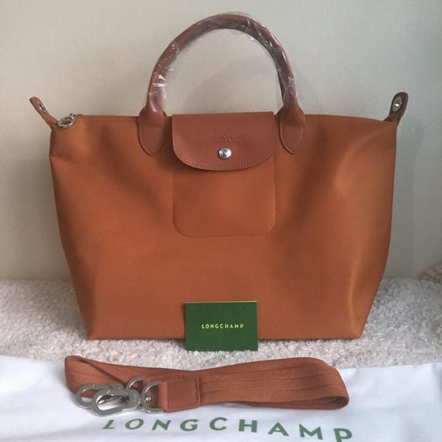 Authentic LONGCHAMP NEO MSH Plum Bag  7e4e56475dcb8