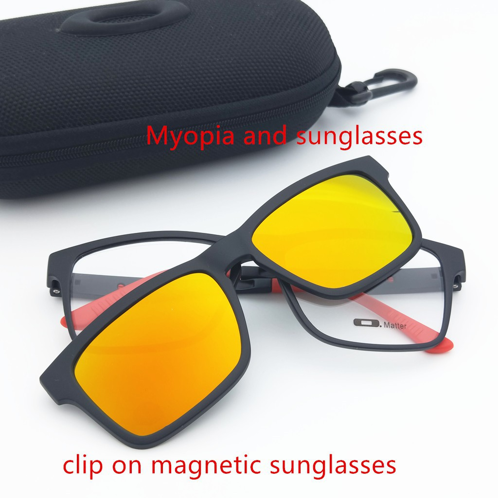 fb7f1ba503 MAGNETIC 6-in-1 CLIP ON SUNGLASSES HIGH QUALITY UNISEX