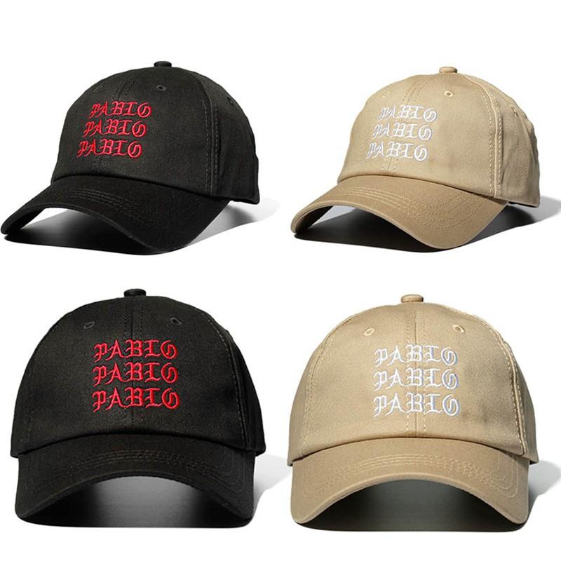 63f62b9318b I Feel Like Pablo Red Hat Dad Baseball Cap Kanye Pablo embroidery dad hat