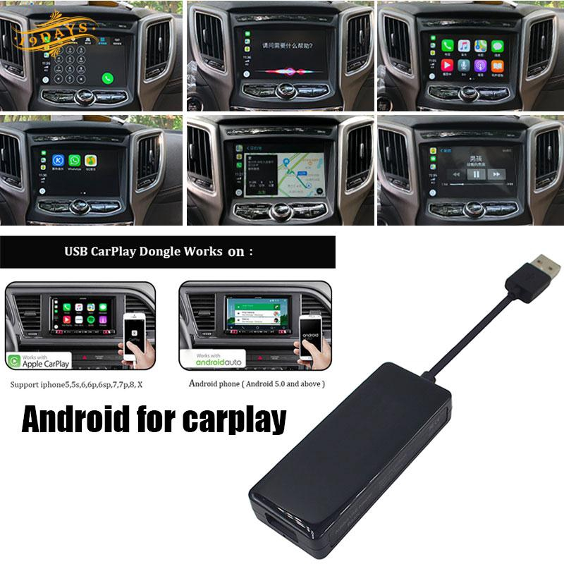 Apple CarPlay Auto Link Dongle Link Dongle USB Black