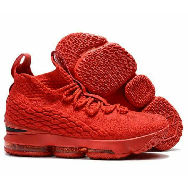df40f7c6682 ProductImage. ProductImage. NEW NIKE LEBRON 15 OEM ALLRED FOR MEN  BASKETBALL SHOES