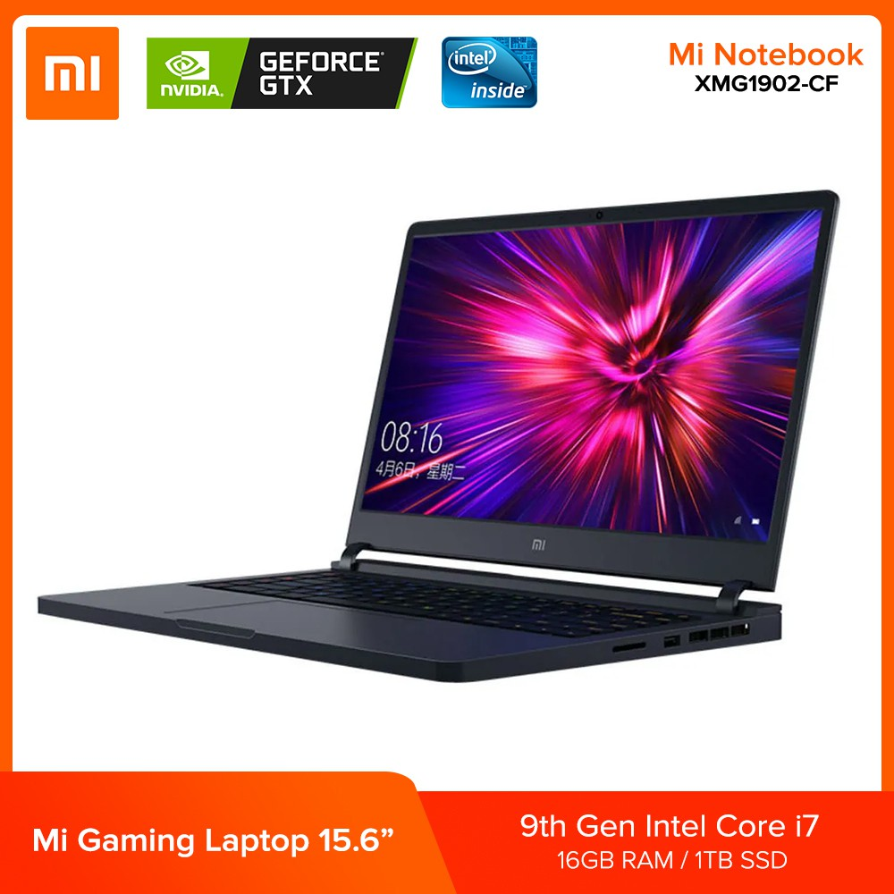 Xiaomi Mi Notebook 15 6 Gaming Laptop 144hz 9th Gen Intel Core I7 9750h Gtx 1660ti 2 6ghz 16gb 1tb Shopee Philippines
