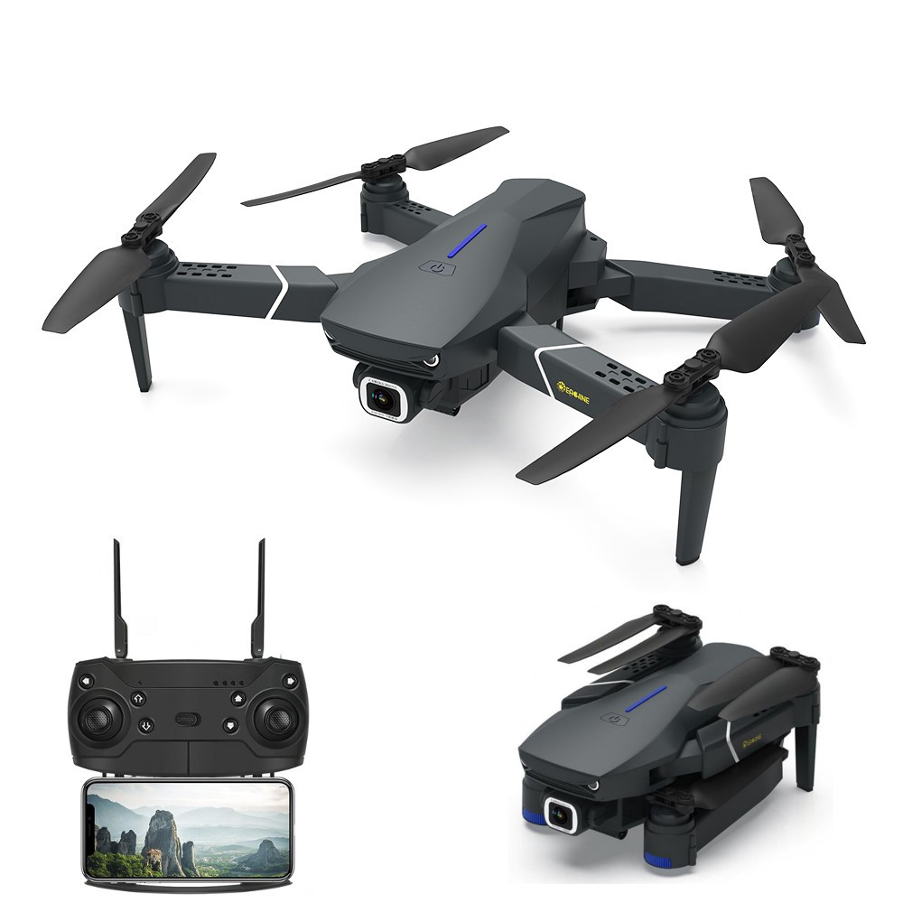 Flyworld Eachine E520 WIFI FPV With 4K/1080P HD Wide Angle Camera High Hold  Mode RC Drone Quadcopter
