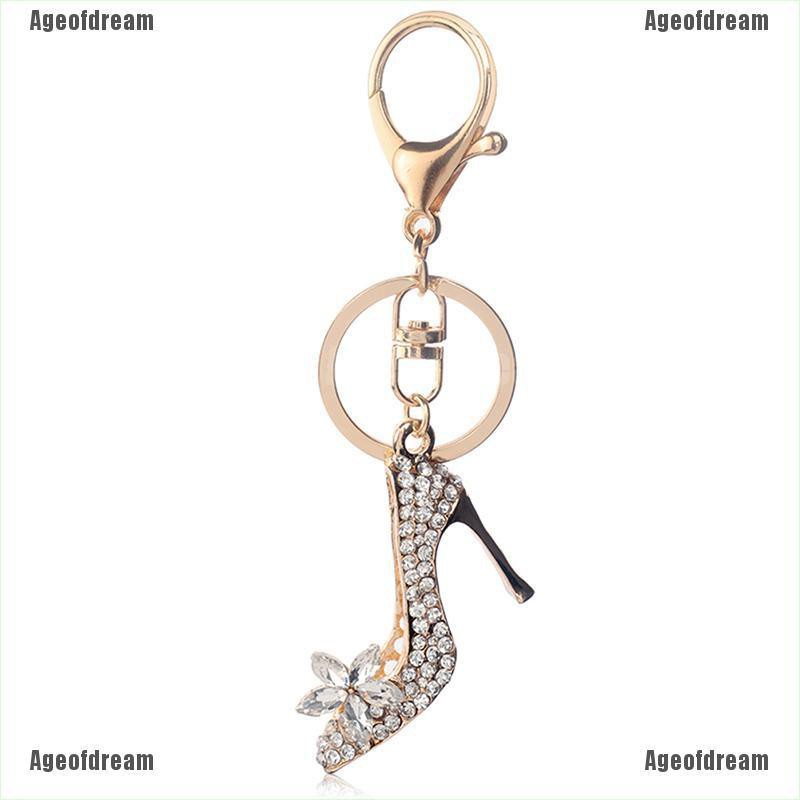 High Heels Keychain Color Gold