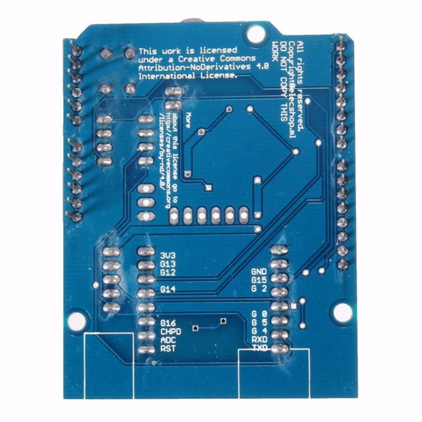 Arduino WiFi Shield Based on ESP8266 ESP-12E | Shopee