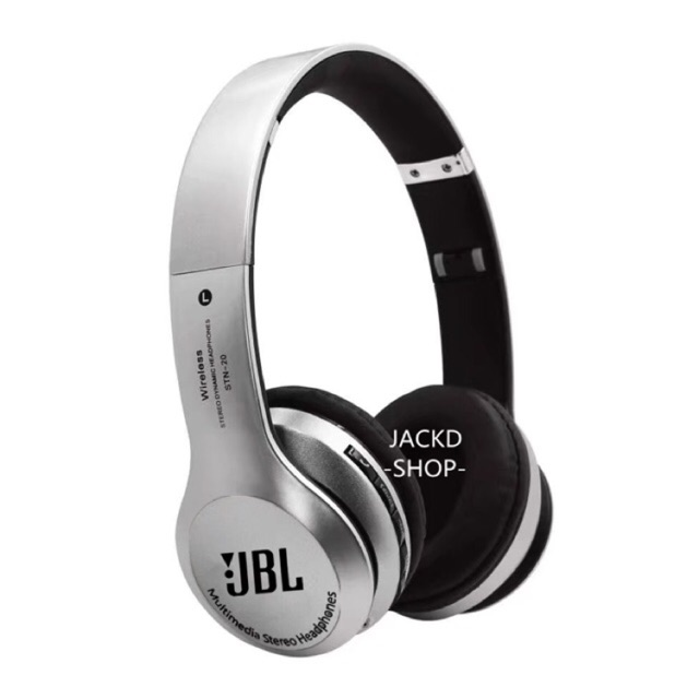 Jbl Bluetooth Wireless Headset Stereo Super Bassfm Mp3 Shopee Philippines