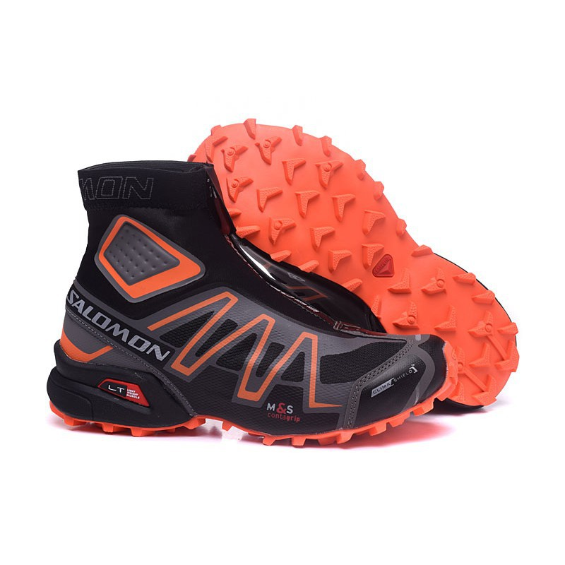 the latest 6629f 91461 Salomon Snowcross Boots High Top Hiking Sneakers Men shoes