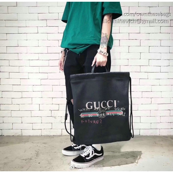 79acae441203 Gucci Coco Capitán logo backpack (Red) | Shopee Philippines