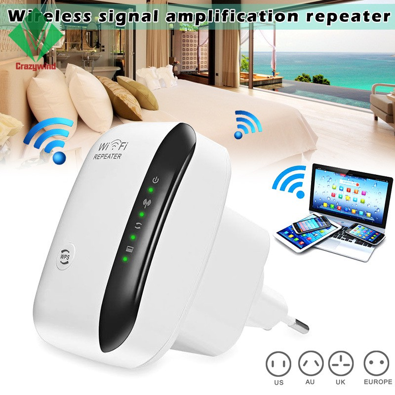 WiFi Range Extender Super Booster 300Mbps Superboost Boost Speed Wireless  WiFi Repeater