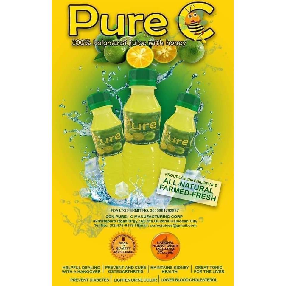 pure c 500ml calamansi juice