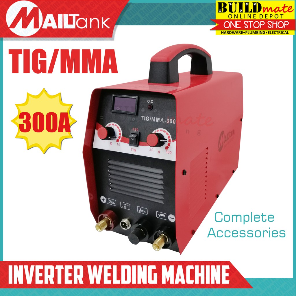 Mailtank 300a Tig Mma Inverter Welding Machine Tig Buildmate Shopee Philippines