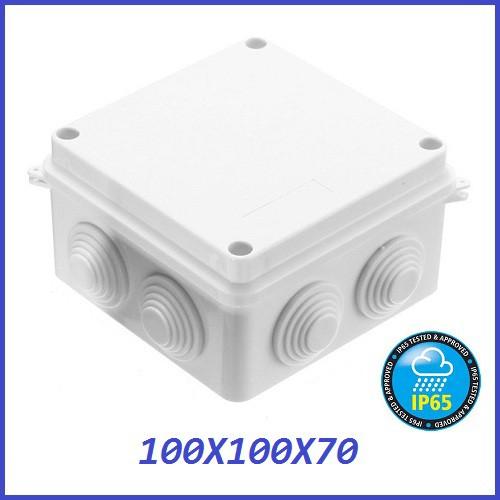 100x100x70mm waterproof ip65 junction box outdoor electricalproductimage productimage 100x100x70mm waterproof ip65 junction box outdoor electrical