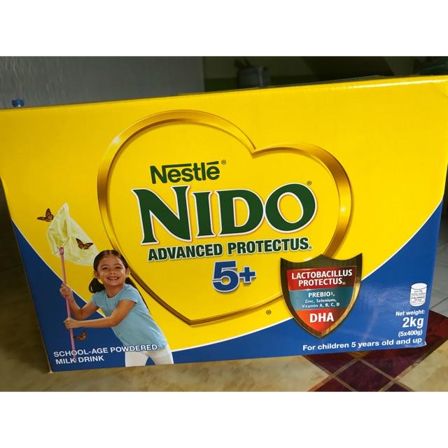 Nido 5+ Advance Protectus 2kg