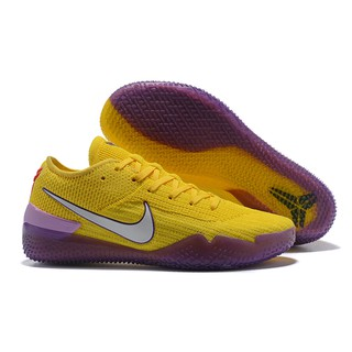 reputable site a2813 a0ac7 Nike Kobe AD NXT 360 'Yellow Strike' Basketball Shoes ...