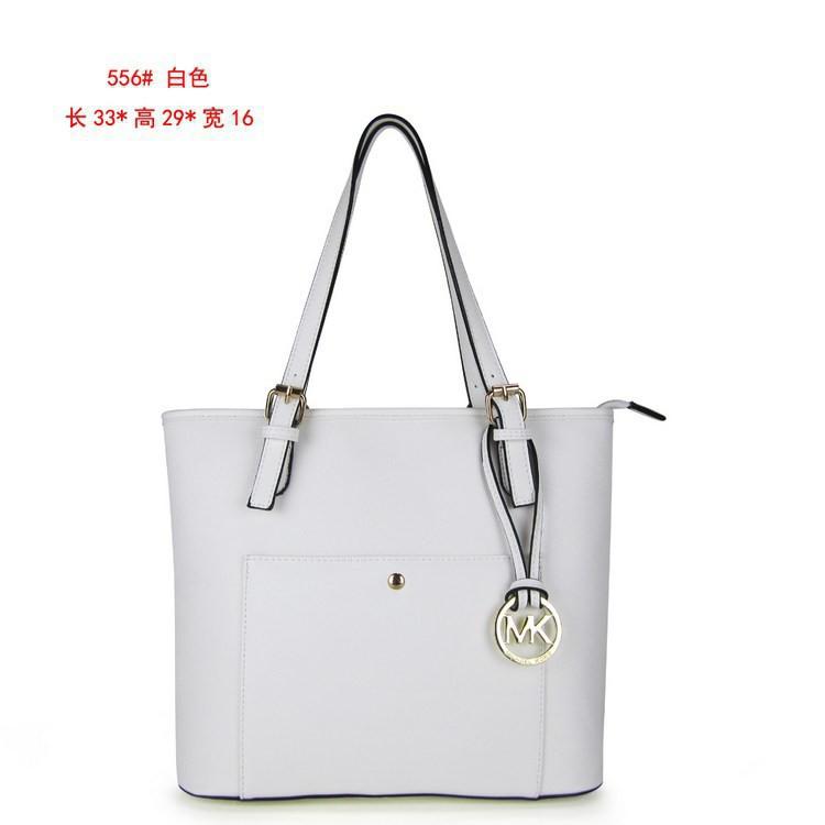 4d71750e3fbd Michael Kors leather shoulder bag JET SET handbags outlet totes MK556