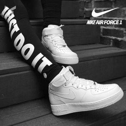 huge discount ecfce fbe65 nike AirForce 1 men s shoes high cut boy basketball shoes