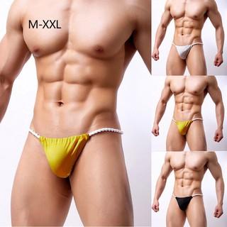 New Men Low-waist Underwears Pouch Thongs G-String Swim Briefs Shorts Bikini UK