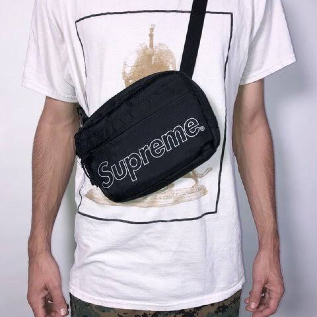 Supreme Fw18 Shoulder Bag Black | Shopee Philippines