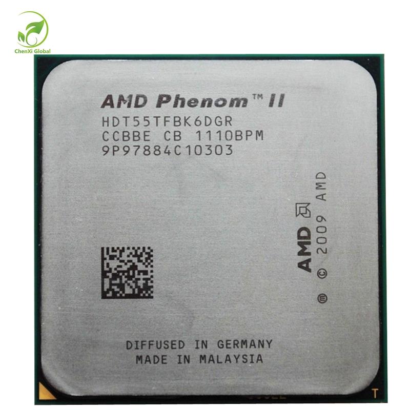 Amd Phenom Ii X6 1055t Cpu Processor Six Core 938 Pin Socket Am3 Am2 2 8ghz 6m 95w Cpu Processors