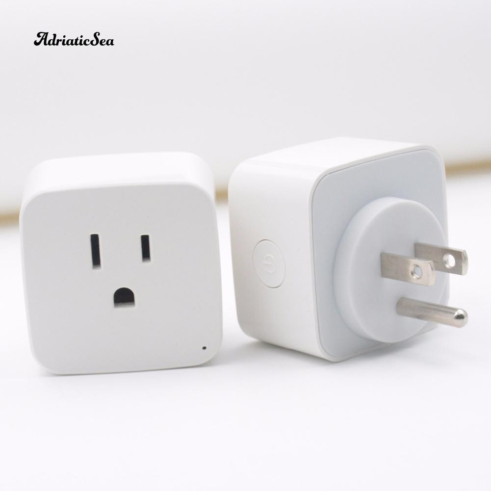Ready Stock WiFi Remote Control Smart Power Socket Wireless Timer Switch  Outlet AC US Plug COD