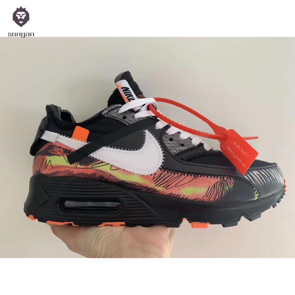 separation shoes 6e0a9 746df [songan]Nike Air Max 90 x Kyrie Irving NBA Sports Running Shoes for Mens  Sneakers
