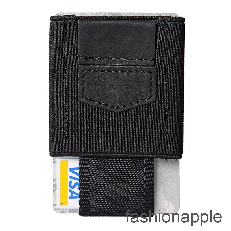 Front Pocket Minimalist EDC Slim Wallet 15 Card Holders for Men Cash Coins Key..