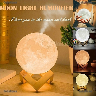 Latest 3d Printed New 880ml Ultrasonic Moon Humidifier With Led Night Light Aromatherapy Essential Oil Diffuser Usb Moon Humidifier Moonlight Usb Air Purifier Air Humidifier Shopee Philippines