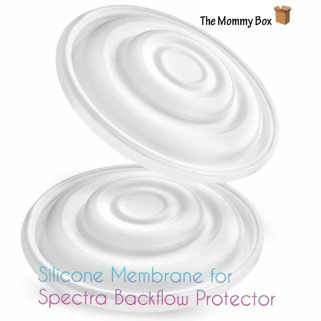 Long Short and Medium 9 Plus Backflow Protector and Maymom Backflow Protectors White Maymom Silicone Membrane; Designed for Spectra S1 Spectra S2